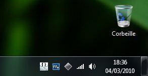 Capture d'écran - Icône relatives à l'audio et les sous-titres du fichier lu
