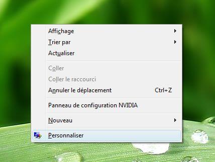 Capture d'écran - Paramétrage de la fréquence du moniteur