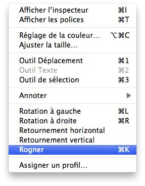 Rogner Et Redimensionner Une Image Avec Apercu Sous Macos X Protuts Net