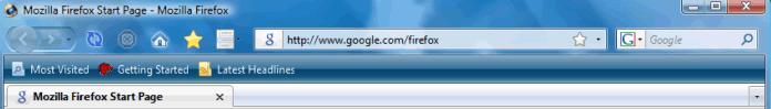 Thème Strata Reloaded pour Firefox