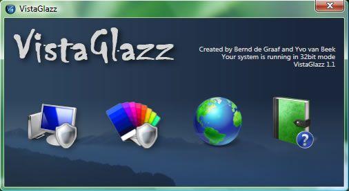 Capture d'écran - Vista Glazz ou comment activer les styles visuels dans Windows Vista SP1