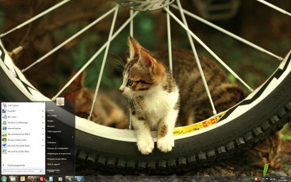 Capture d'écran - Thème Bicycle Ride around Taiwan