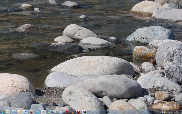 Capture d'écran - Thème Rocks pour Windows 7