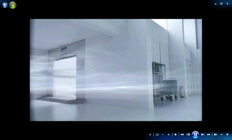 Windows Media Center : bandes noires